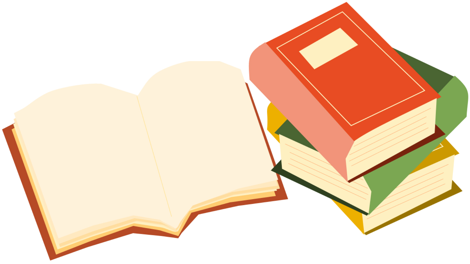 図書館の本の画像