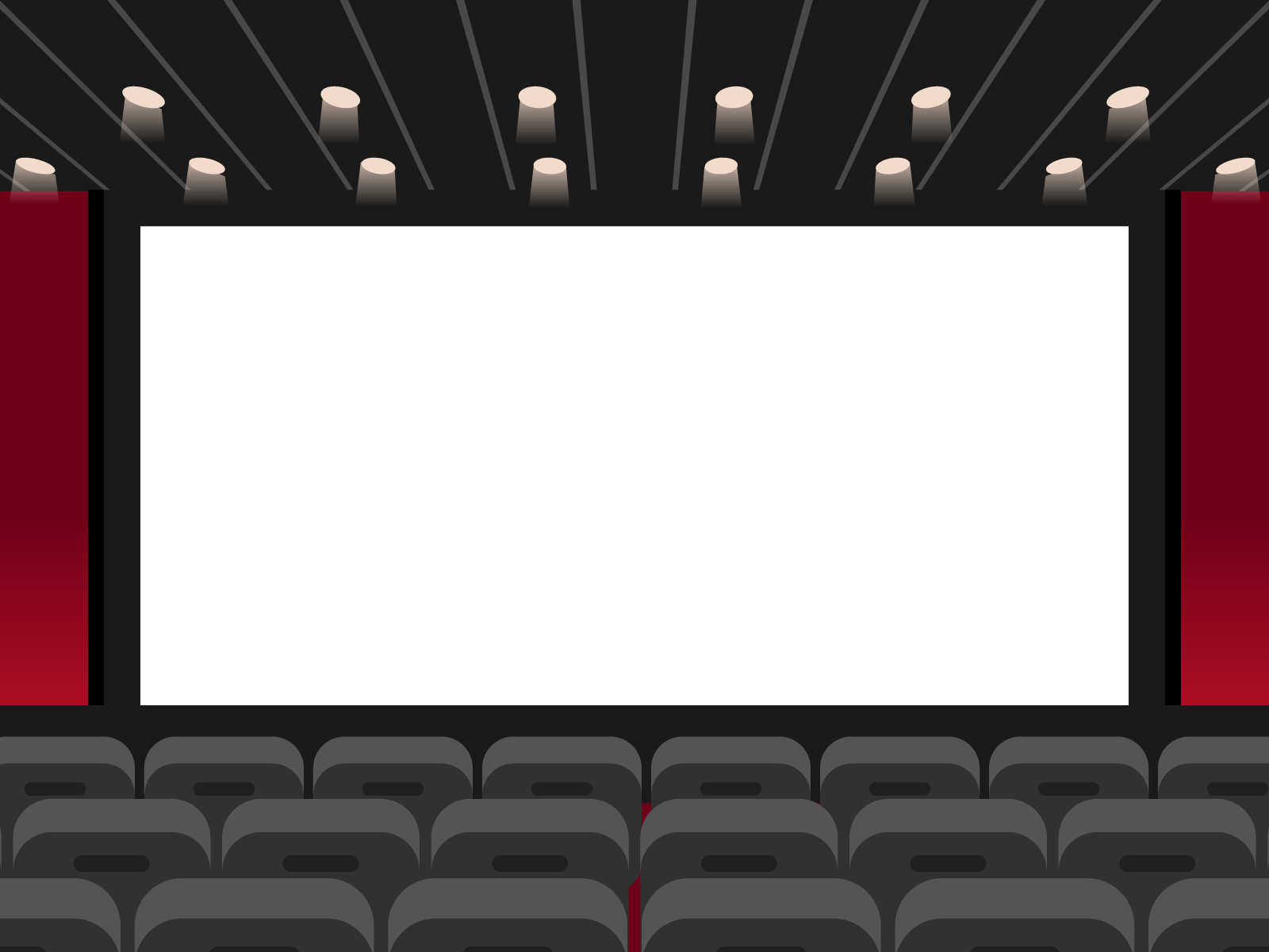 映画館のイラスト