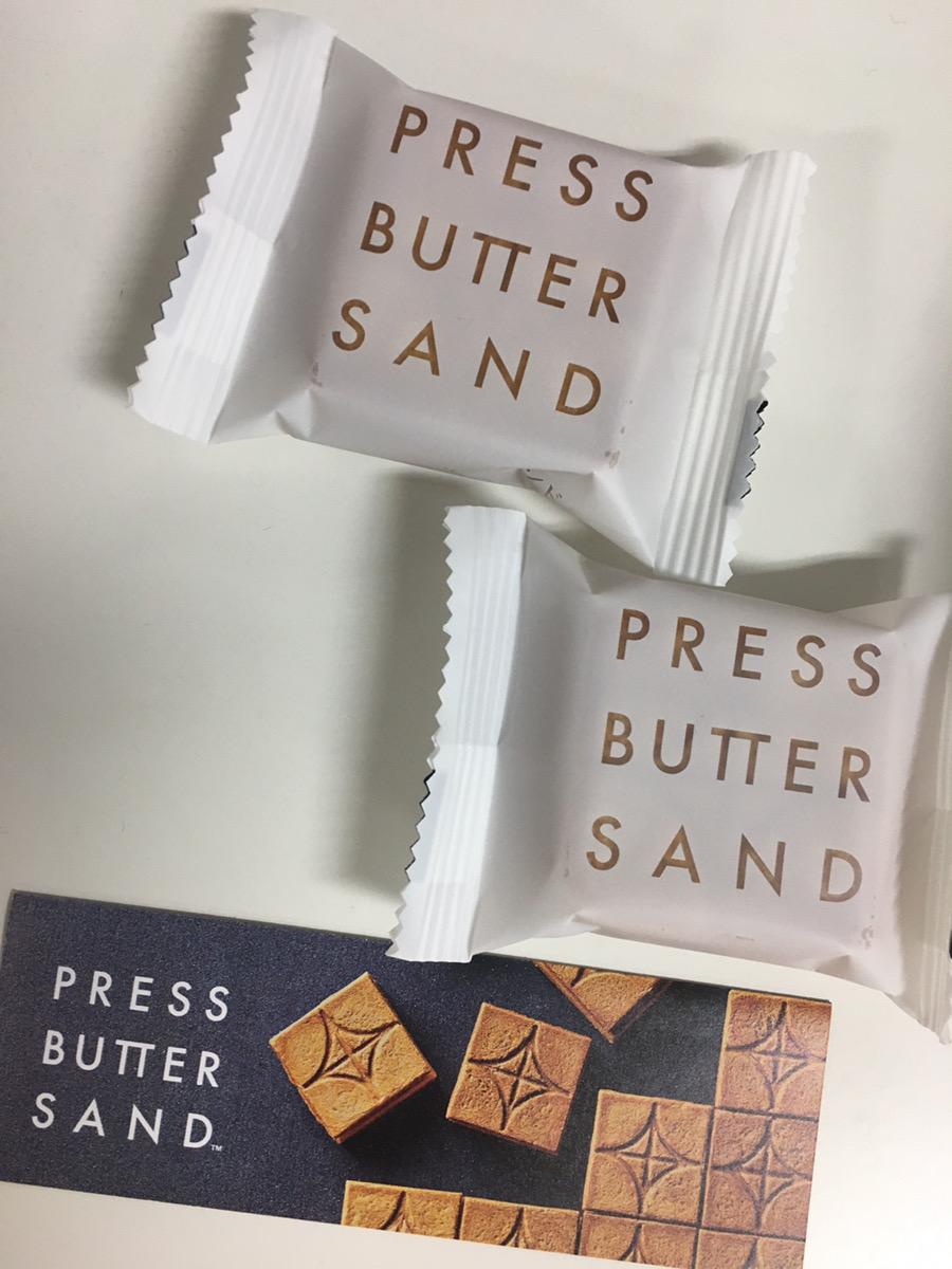 プレスバターサンド個包装の写真