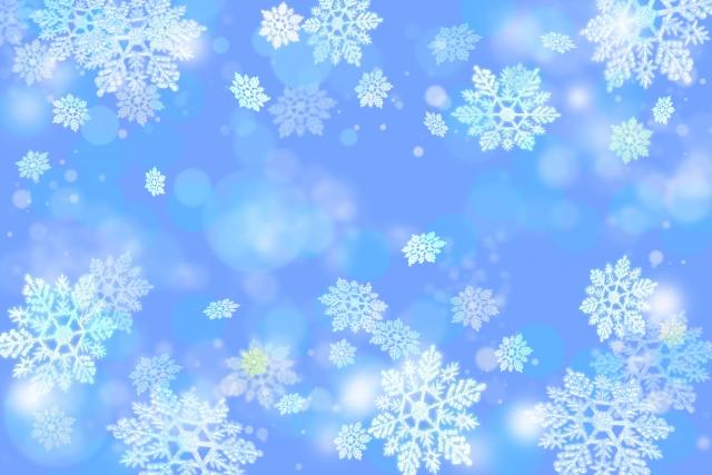 雪と氷の背景