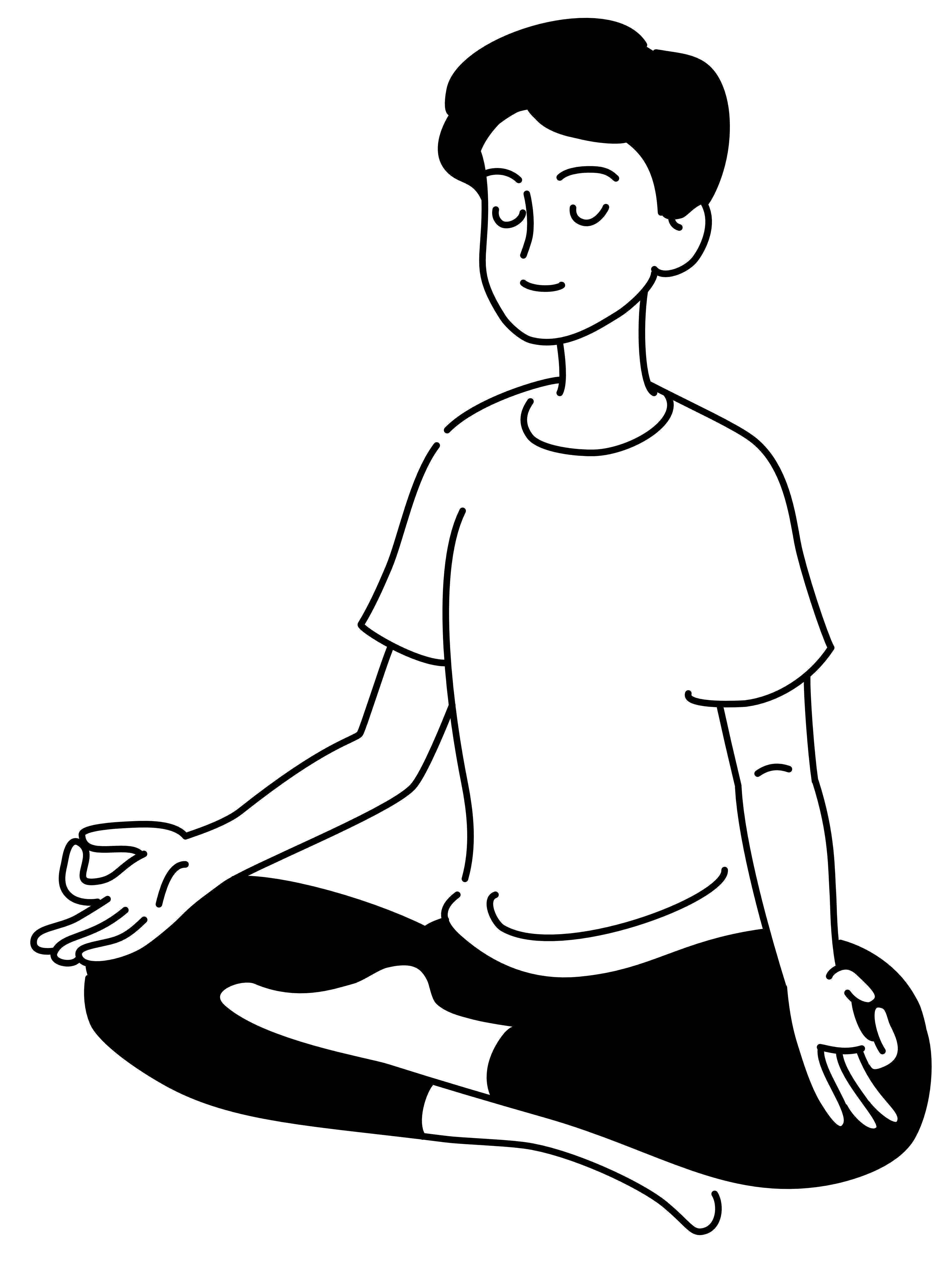 瞑想 男性